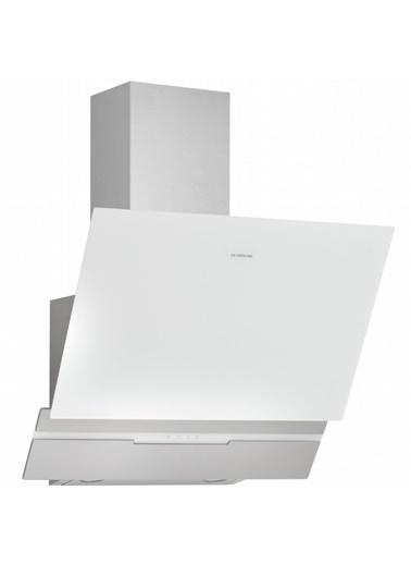 Silverline 3450.6.110.03 Slim-Line 60 Cm Beyaz Ankastre Davlumbaz Renkli